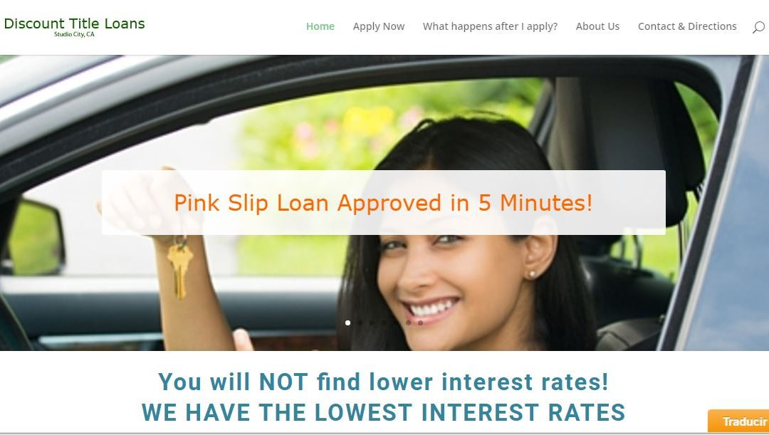 Financial Loan Website Design – Studio CIty