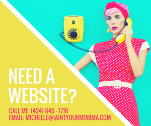 contact michelle farrell for a website