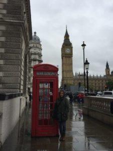 Michelle in London