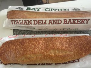 Fresh baked bread from Bay Cities Deli, Lincoln Blvd. Santa Monica