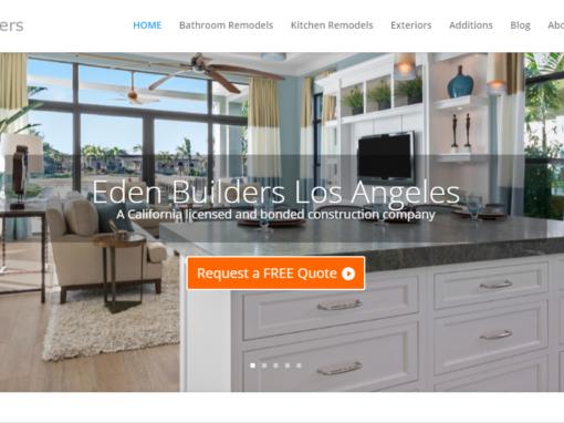 Construction company website design – Woodland Hills