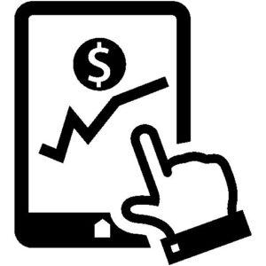 sales graph dollars increase