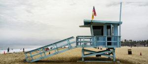 Lifeguard Station 28 Santa Monica Beach