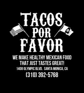 Tacos Por Favor, 1408 Olympic Blvd, Santa Monica