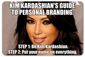 Kim Kardashian Branding