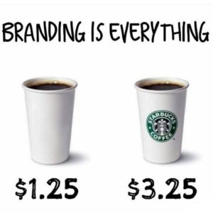 branding is everything price comparison