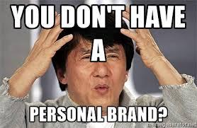 jackie Chan personal brand meme