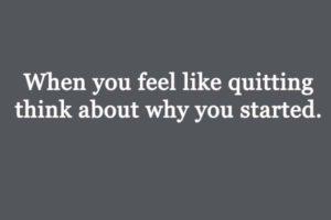 motivational quote - don't quit