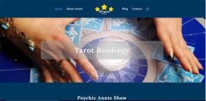 Annie Shaw Psychic website