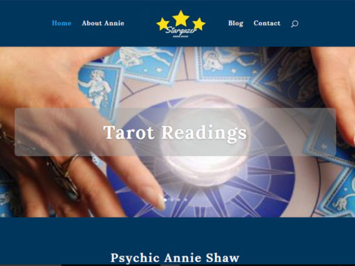 Psychic Entertainer Website Build