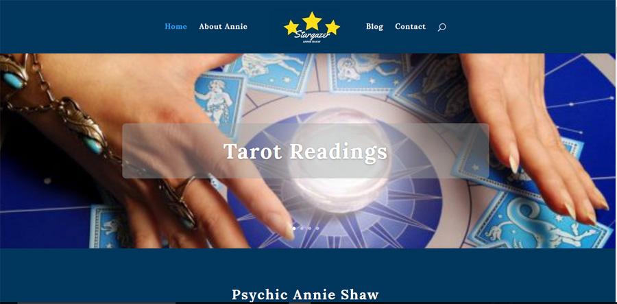 Psychic Entertainer Website Build