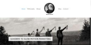 beautiful Darwin agency website