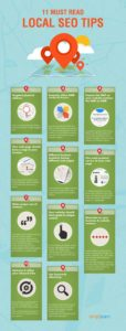 11 must read local seo tips infographic
