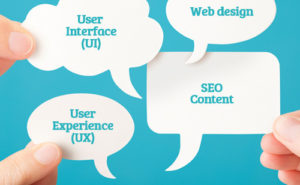 User Experience (UX), User Interface (UI), web design, SEO Content