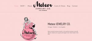 ecommerce website selling jewelry