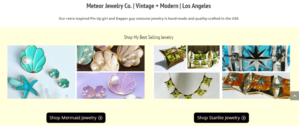 Meteor jewelry ecommerce website setup