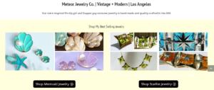 Meteor jewelry ecommerce website setup
