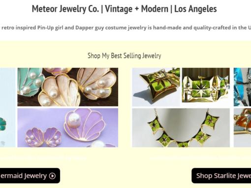 Ecommerce Jewelry Store Website
