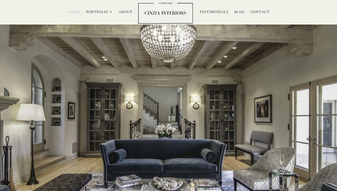 Interior Designer Web Site Built