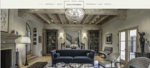 Interior Desginer website built for Cynthis Sheen Los ANgles