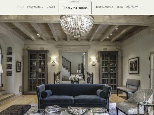 Interior Designer Web Site Built