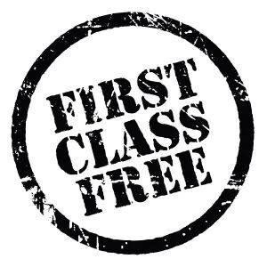 First class is free promo