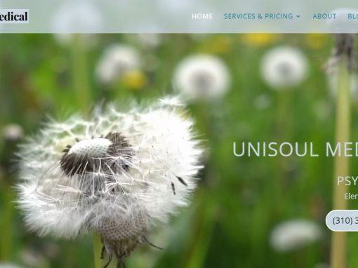 Calming Website Built for Psychiatrist, Torrance, CA