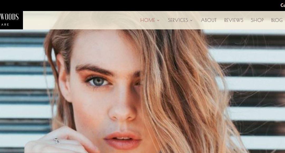Santa Monica Skin & Brow Studio Ecommerce Site