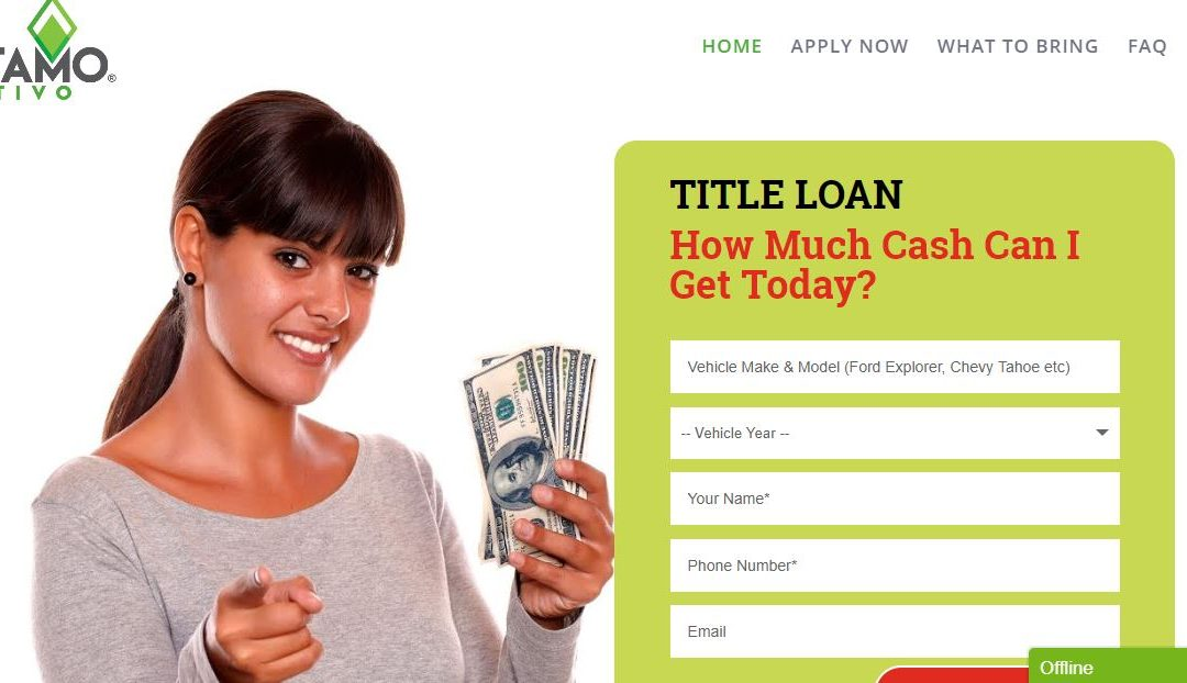 Sacramento Title Loan Website