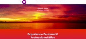 Consultant website for Santa Monica coach