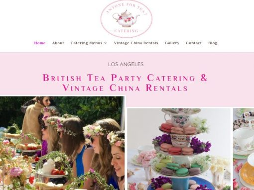 Bel Air Website English Tea Party Caterer