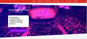Web design for Santa Monica consulting business
