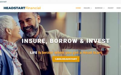 Financial Website Built in WordPress & Divi