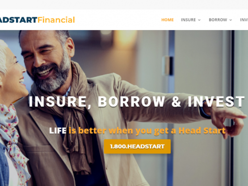 Financial Website Built in WordPress & Divi