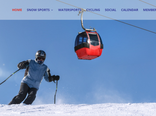 Century City Web Design for Sports Club