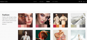 Adobe color trends fashion