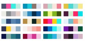 color palettes combinations of gorgeous colors.