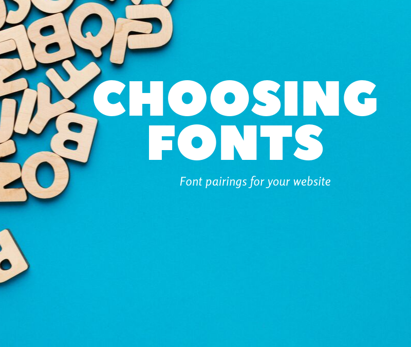 Tools for Choosing Fonts for Your Brand & Website