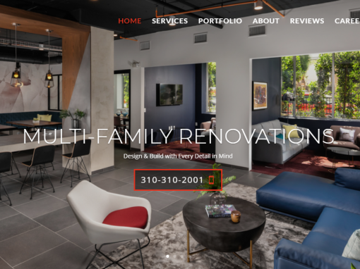 Streamline Builders Construction Website Build Santa Monica