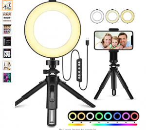 Selfie light for phone and computer
