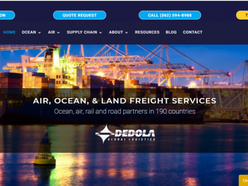 Updated DIVI theme website built in 2014 – Long Beach, CA