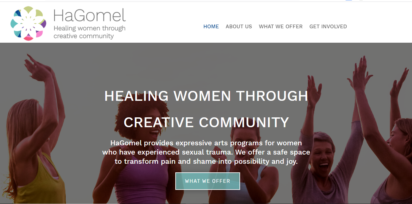 HaGomel website in Los Angeles Art Programs