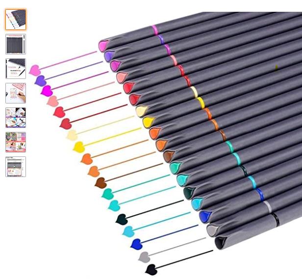 Journal writing pens