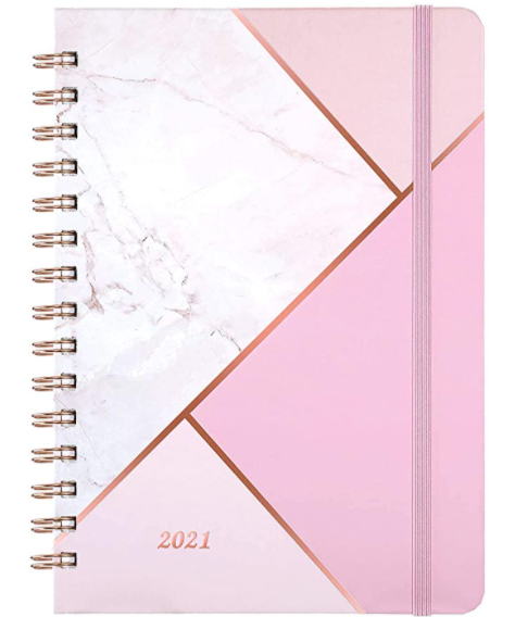 Weekly planner for appointments 2021