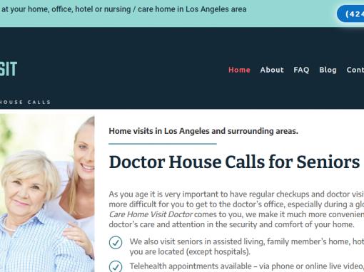 Los Angeles Medical Doctor Website Design