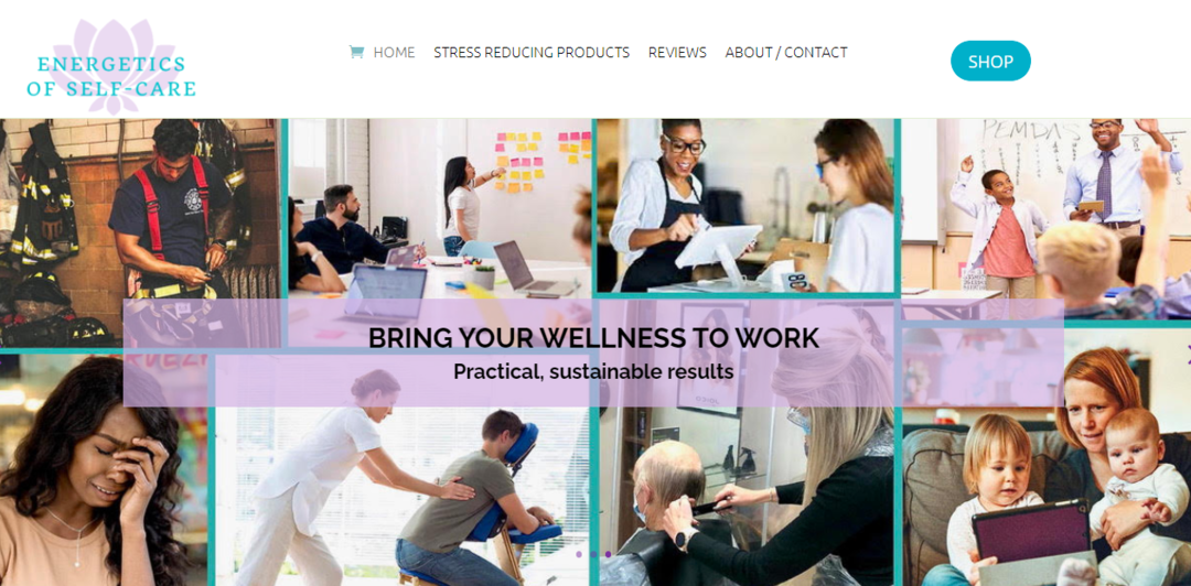 West LA New Business Web Design – Meditation & Self-Care