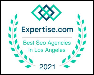 2021 SEO expertise award from expertise.com